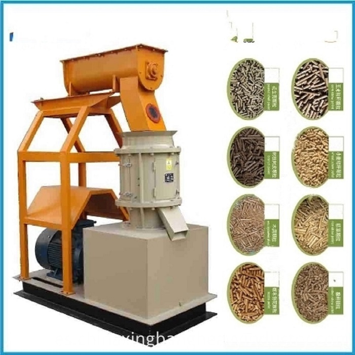 Ce Approved Flat Die Biomass Wood Granulator