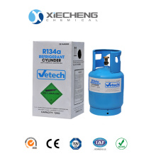 Factory source manufacturing for Hfcs(Hydro-Fluorocarbon) Refrigerant Gas 134A for 12L CE Cylinder export to Congo, The Democratic Republic Of The Supplier