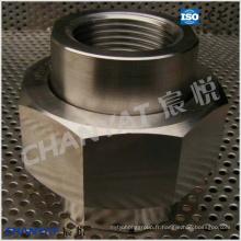 BS3799 Union vissée en acier inoxydable A182 (F6, F429, F430)