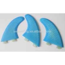 2015 new style honeycomb fiberglass surfboard fin/fin tube