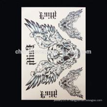 OEM gros panique aile tatouage bande bras tatouages célèbre bras bande tatouage W-1007