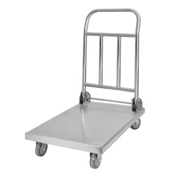 Chariot plate-forme en acier inoxydable pour cuisine