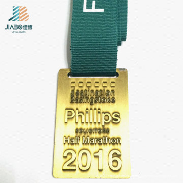 80mm Alloy Casting Customize Embossed Logo Gold Metal Sports Medals with SGS Certificate