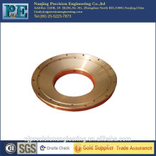High precision customized brass cone flange