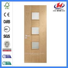 *JHK-1008 3 Panel Interior Door Custom Fiberglass Door Fiberglass Dutch Door