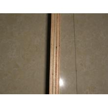 Papierförmiges Sperrholz, Hartholzkern