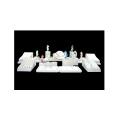 MDF PU White Jewelry Display Stand Showcase Wholesale (WS-TR)