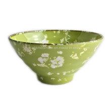 Novo design de mármore estilo Melamina Bowl