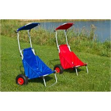 Carros plegables de la silla, carretilla de la playa de la pesca, carro de la playa