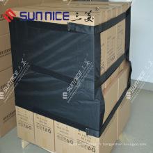 Couverture d'expédition de palette Protecteurs d'emballage de palette en plastique