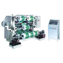 Película de plástico, cortadora de papel y máquina rebobinadora