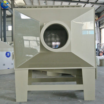 Horizontal Gas Scrubber air clearing treatment equipment