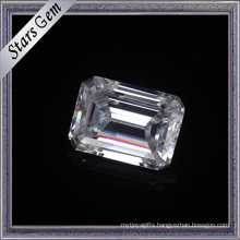 10X14mm Emerald Cut Forever One Brilliant Cut Moissanite for Fashion jewelry