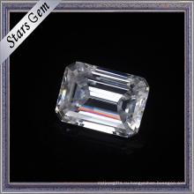 10X14mm огранки Изумруд навсегда бриллиант Муассанит ювелирных изделий