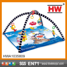 Funny Blue Soft Baby Play Mat