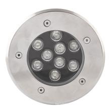 Hohes Quanty 9W Inground Light mit 2 Jahren Garantie