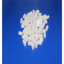High Temperature White Small Alumina Zirconia Ceramic Tube