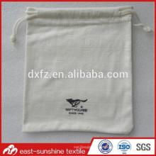 Kleine Tunnelzugbeutel, benutzerdefinierte volle Logo geprägte Druck Microfaser Gläser Reinigungstuch Beutel Tasche
