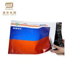 Подгонянная напечатанная Конструкция износостойкой пластмассы ранец Экспресс Упаковка почтовые мешки