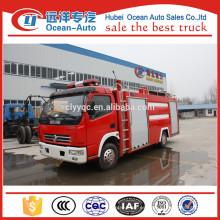 Dongfeng 4000liter fabricantes de camiones de bomberos europa