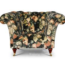Tela casera del paño grueso y suave de la materia textil para la decoración de las cubiertas del sofá