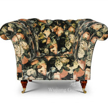 Tissu de molleton de textile à la maison pour la décoration de housses de sofa