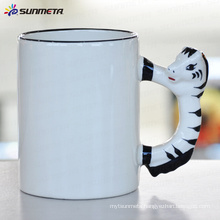 sublimation Animal blank mug horse