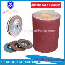 Rollo de tela abrasiva de óxido de aluminio para hacer una rueda de aleta
