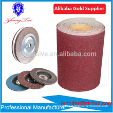 Aluminum oxide abrasive cloth roll for making flap wheel