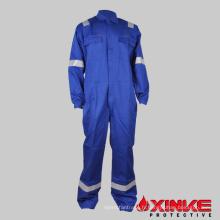 Vêtements de travail bleu royal Industrie Uniforme anti-feu réfléchissant pour l'industrie pétrolière offshore