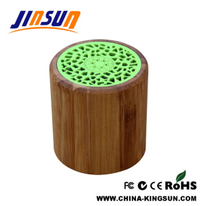 Portable Model Bluetooth Speaker Made Of Natural Bamboo