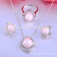 factory price african beads jewelry set, pearl jewelry set, fashion jewelry