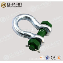 Marine Swivel Shackle/Drop Forged Galvanized Shackle