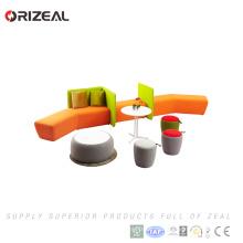 Orizeal últimos muebles de oficina dubai sofá modular muebles de diseño conjunto de muebles precios (OZ-OSF031B)
