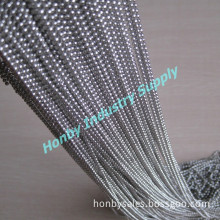 2.4mm Silver Color S. S Bead Chain for Jewelry (L0116AC)