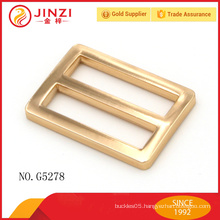 New design fashion style plating surface like plastic buckle for handbags