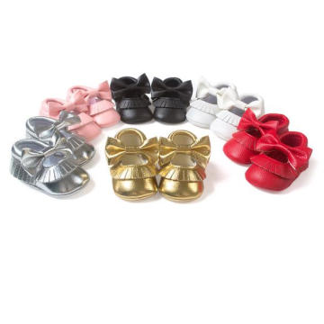 Cute Bow Hollow Design Baby Princess Casual shoes