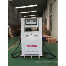 Zcheng bomba de bomba de gás mini panda série de combustível dispensador duplo bico