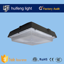 us standard 100w led canopy light gas station