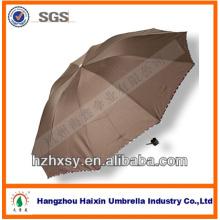 10ribs Folding Rain Unbrella With Good Quality Frame