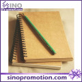Cheap Hardcover Kraft Type of School Diary Notebook