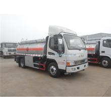 JAC 6 ton 4.2CBM fuel tank truck