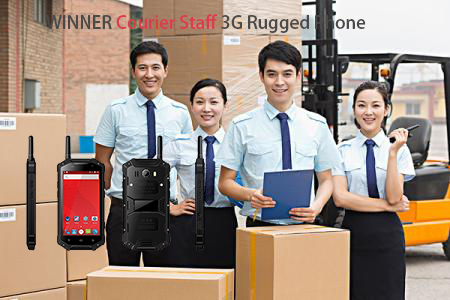 WINNER Courier Staff 3G Rugged Phone