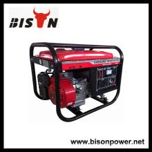 BISON (CHINA) BS3500 pequeño generador portátil con arranque eléctrico por el motor Honda