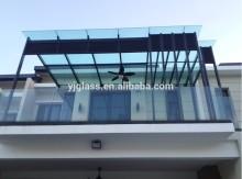 glass sunroom panels