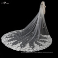 TA028 white color One Layer Veil Wedding Accessories