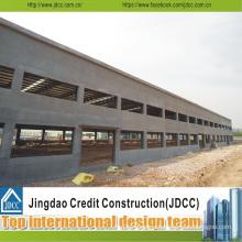 Prefab Long Steel Warehouses Building