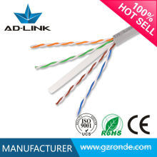 Cable caliente del stp del utp del cat5e CAT6 del plénum de la alta calidad de la venta