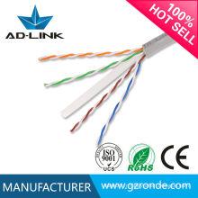 Vente chaude de haute qualité plenum cat5e cat6 utp stp cable