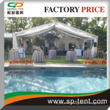 Deluxe Outdoor party wedding Tent with Aluminum Frame Material and PVC Fabric 18x30m